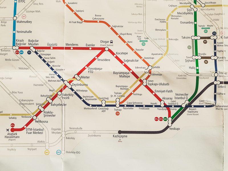 Istanbul railway net