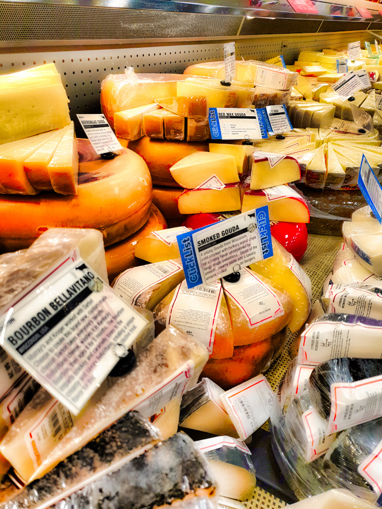 Price comparisons - Cheese in Europe vs. the US