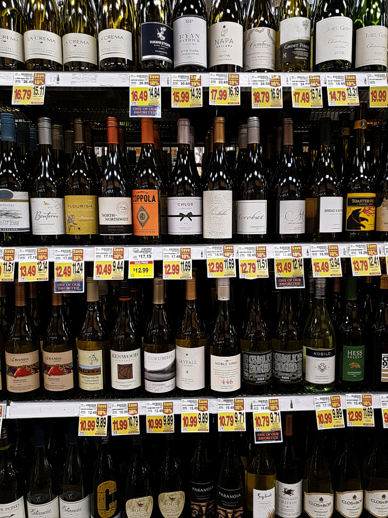 Big variety in the US supermarket