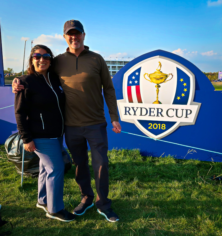The biggest Ryder Cup fans of ALL TIME!