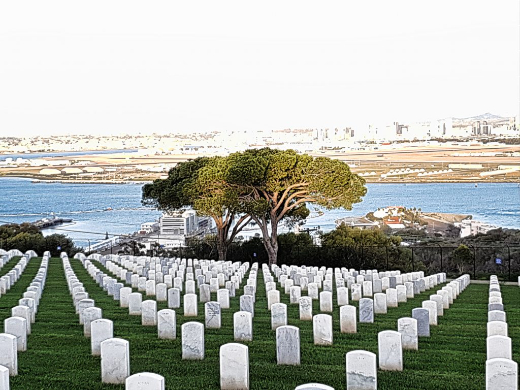 The Rosecrans National Cemetery