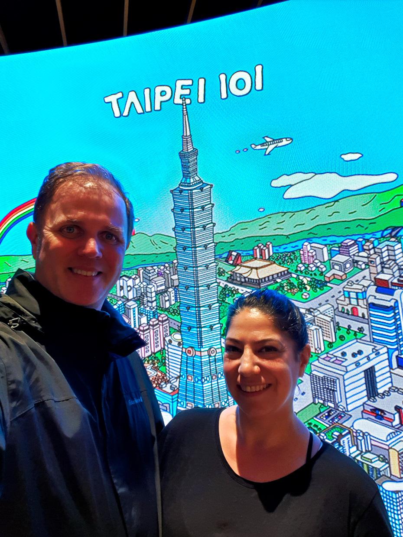 Wir waren da :-) 8 Sachen für Taipei