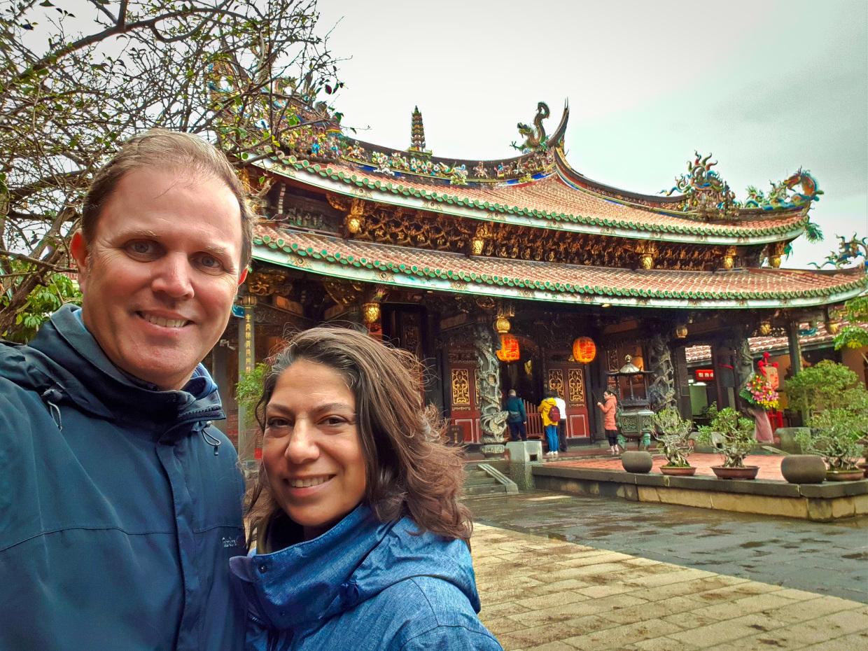 Einer der schönsten Tempel - Dalongdong Baoan