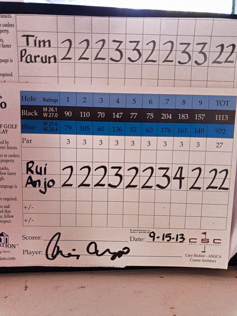 Course record