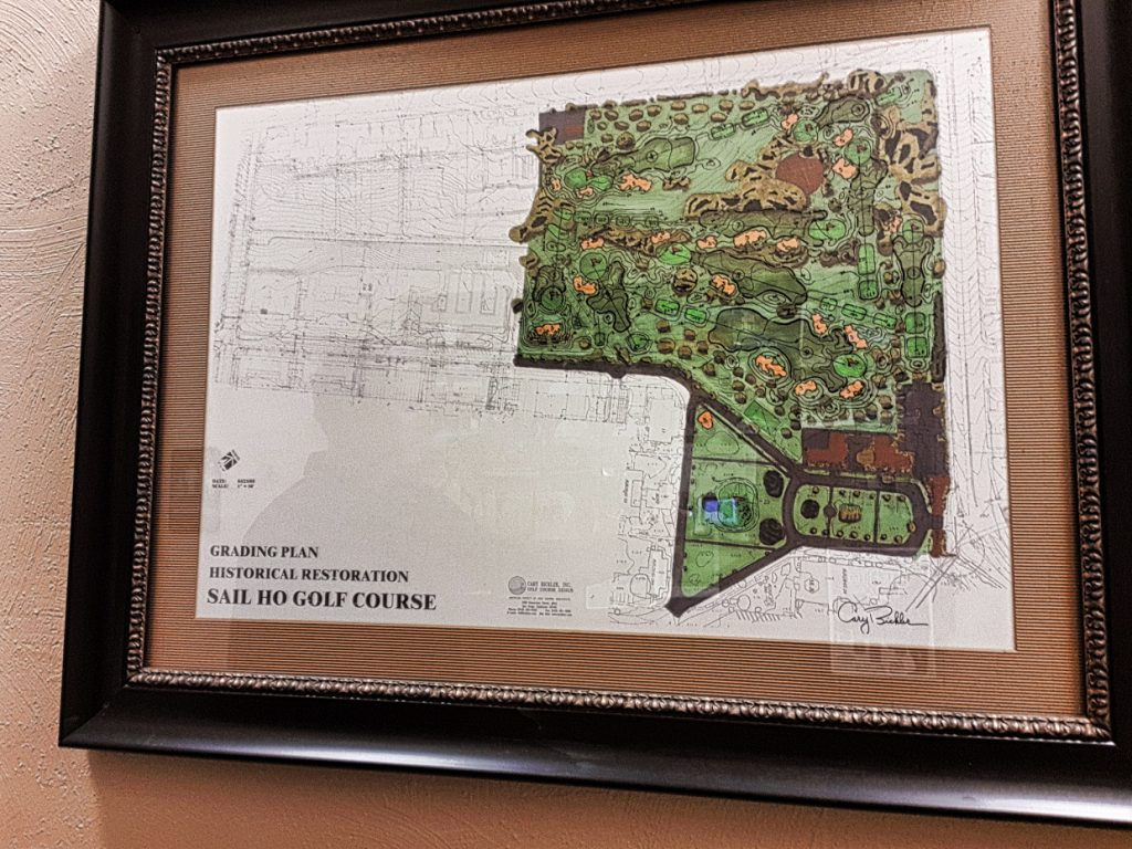 The original course map