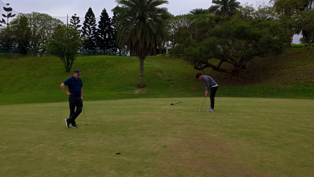 Throwing darts and making putts