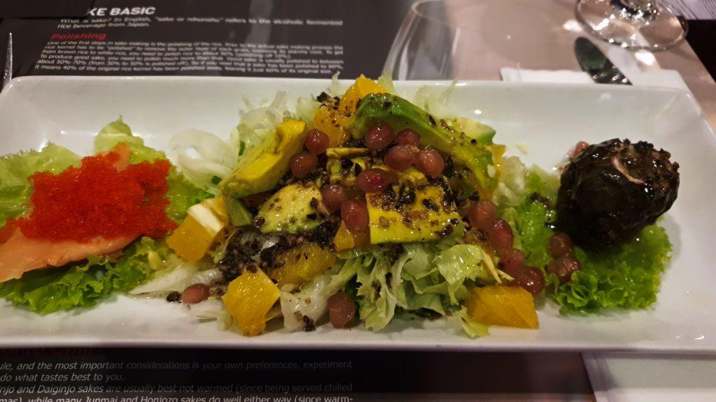 Healthy salad Lazy Days in Medan, Sumatra