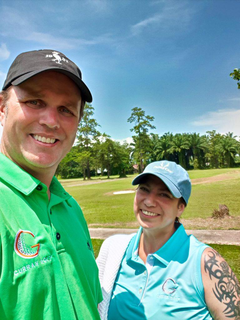 Golfing at BBGC