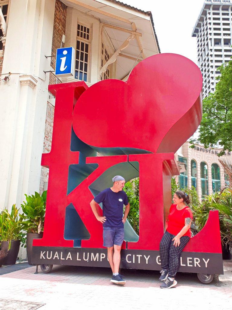 Being a tourist in Kuala Lumpur