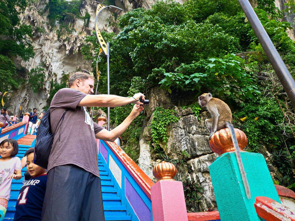 Monkey Business :-D 2.Sehenswürdigkeiten in Kuala Lumpur
