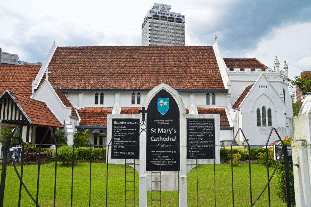 Kultur und Museen - hier die St. Mary's Cathedral