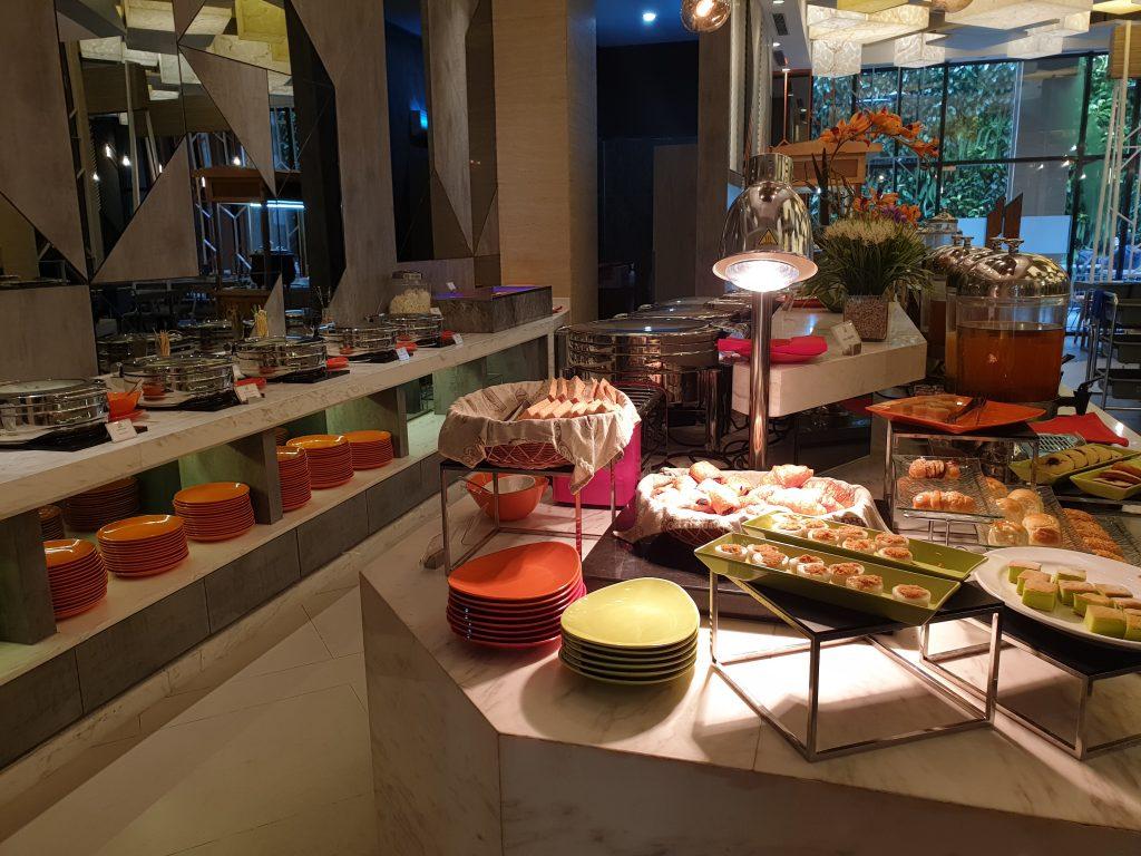 breakfast buffet at ibis Styles Medan Pattimura Hotel
