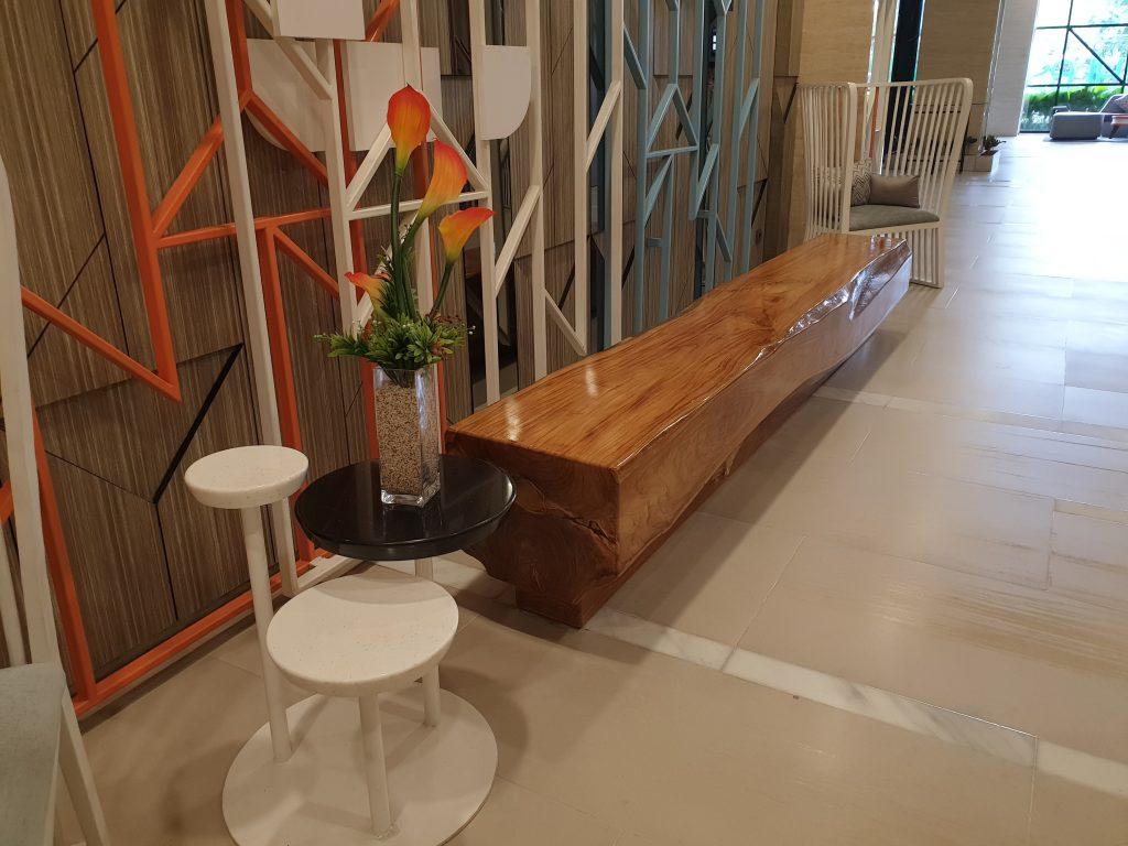 sitting area at the reception  ibis Styles Medan Pattimura Hotel