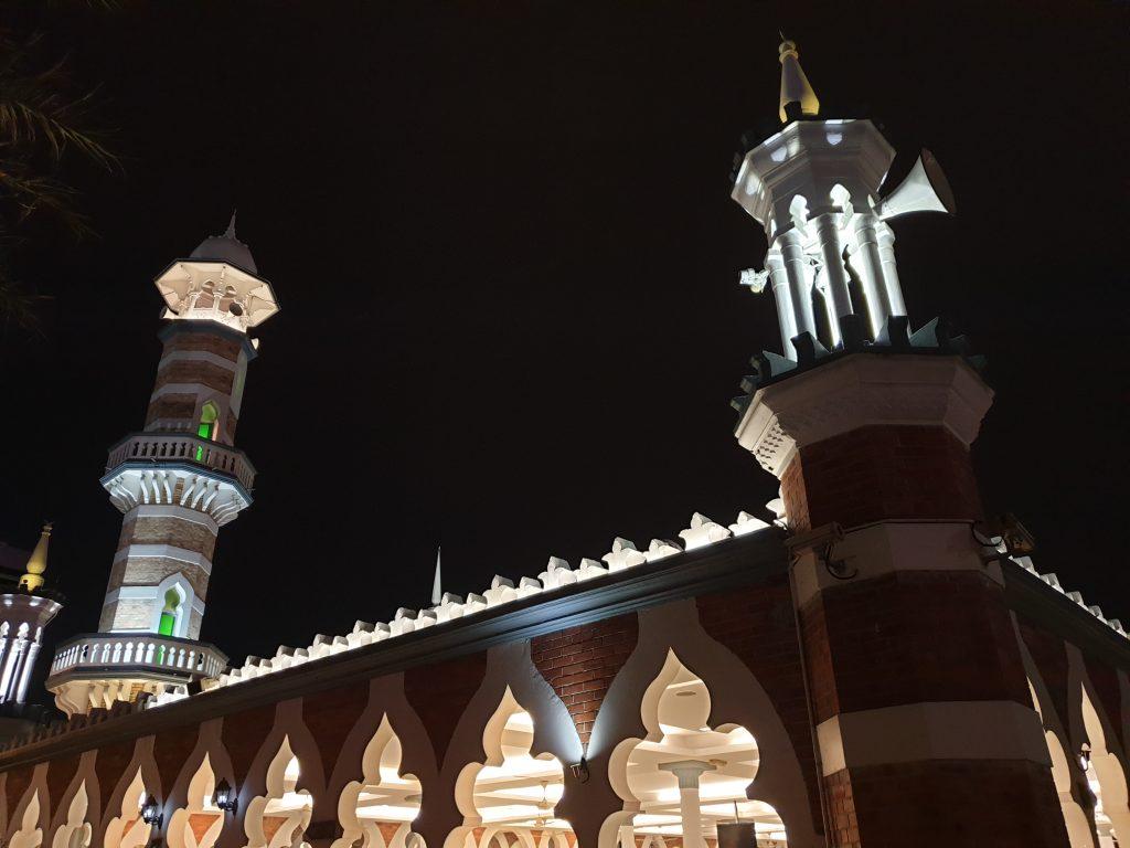 Masjid Jamek at night