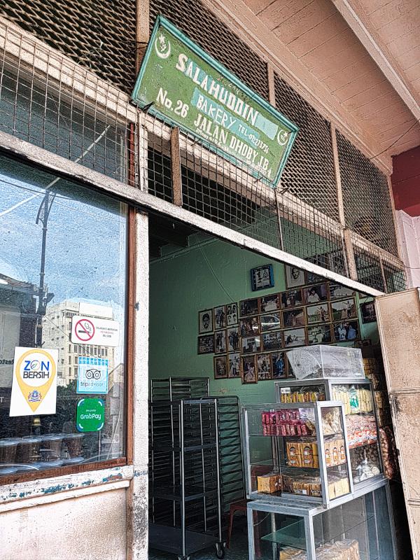 Salahuddin Bakery in Johor