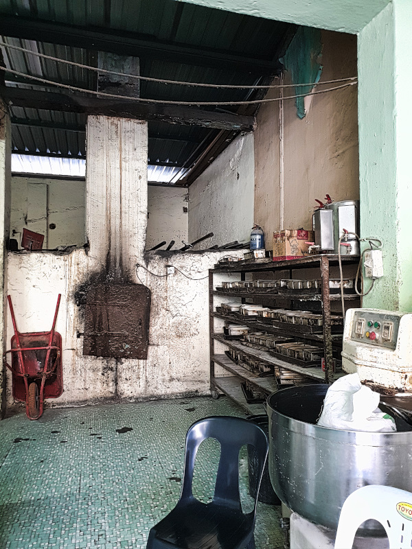 The old wooden oven in the Salahuddin Bakery