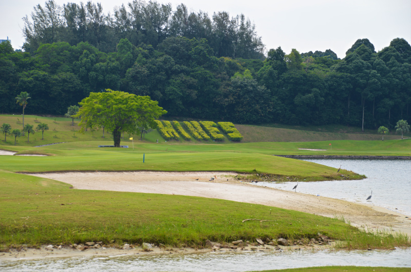 6th hole at The Mines Resort