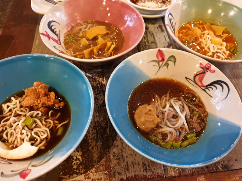 Boat Noodle House in Ipoh, Malaysia