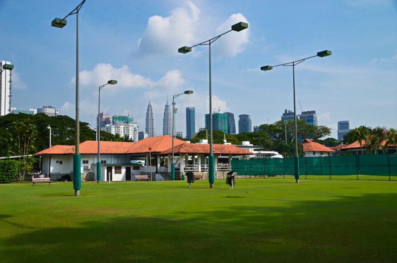 Grass courts at Royal Selangor