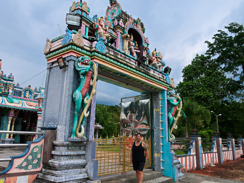 Visiting temples in Langkawi