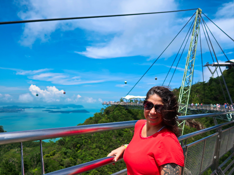 Visiting the Langkawi Sky Bridge