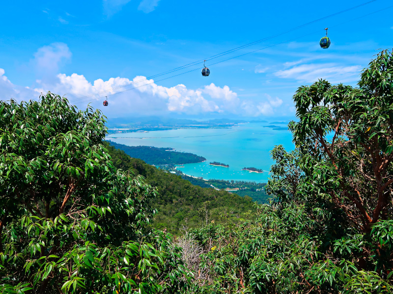 View from the Langkawi Sky Bridge