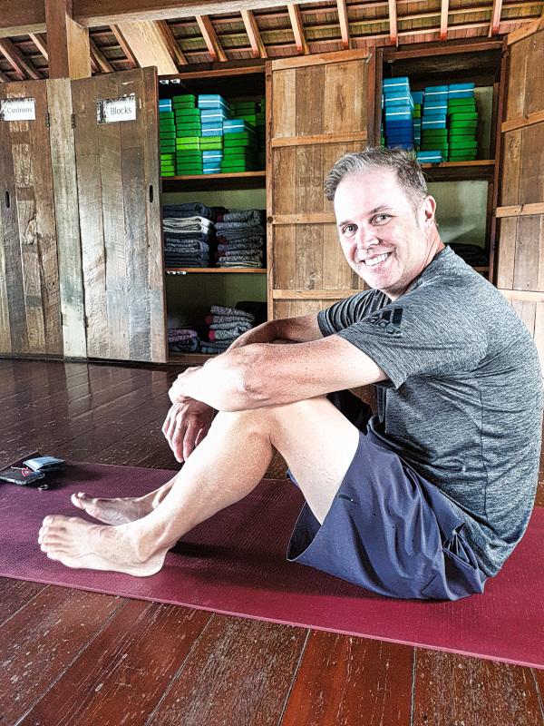 First timer Yoga