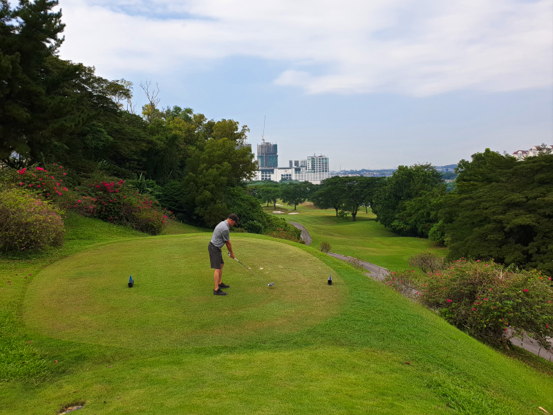 The 18th at The Mines