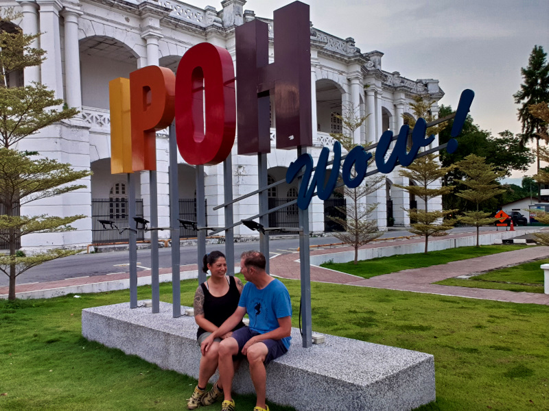 Traveling in Ipoh