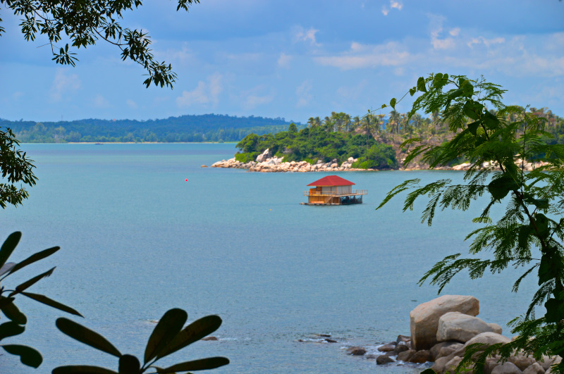 View from our Resort in Bintan