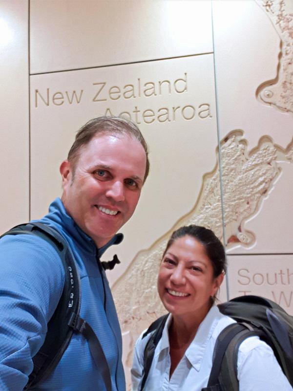 Arrived in New Zealand Drei Monate in Neuseeland