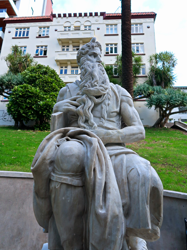 Moses from Michelangelo