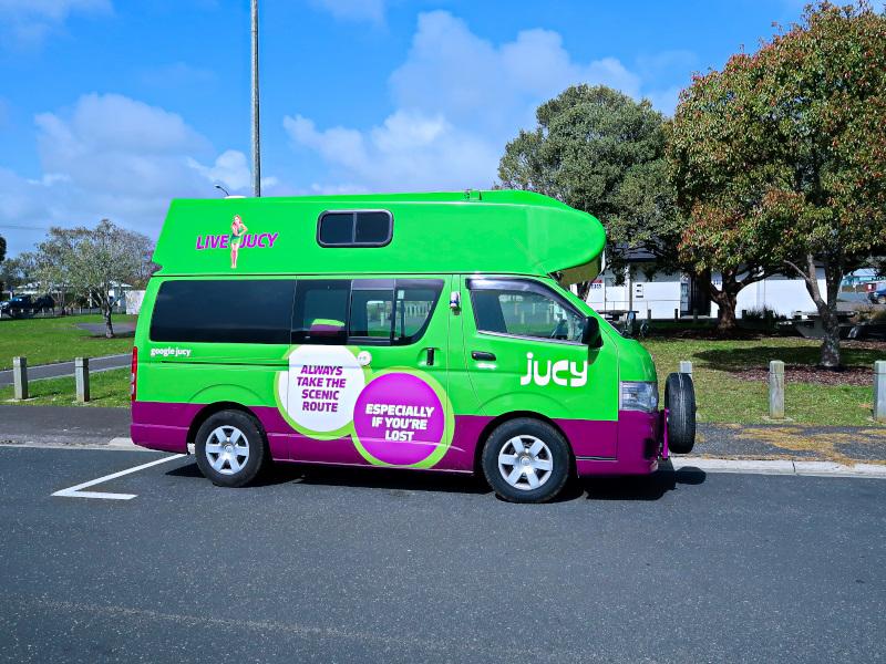Campervan Roadtrip in New Zealand