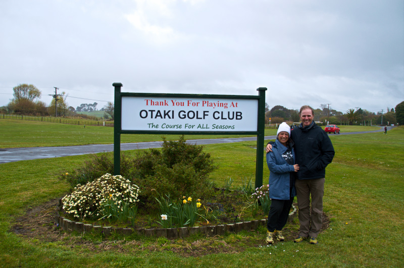 Visiting Otaki Beach Golf Course