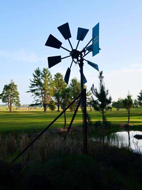 Iconic Windmill at Houhora Golf Club