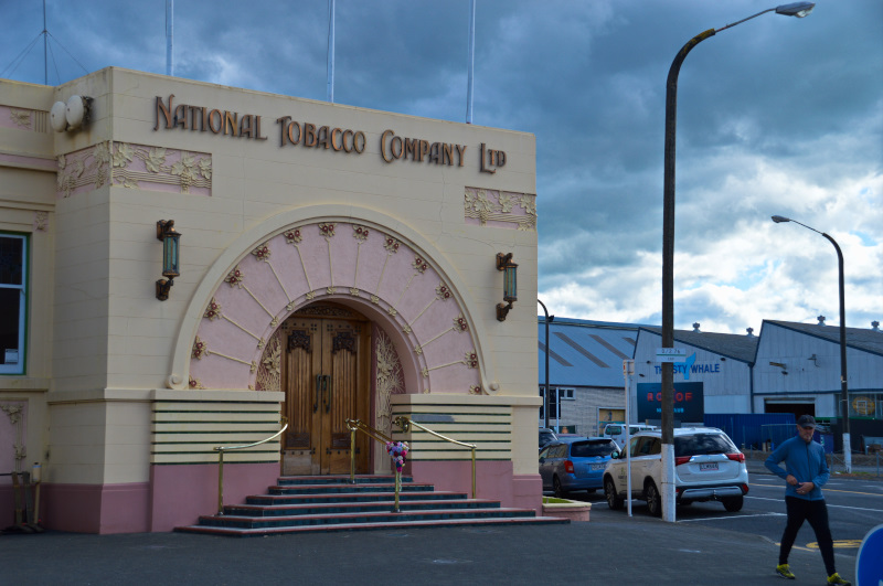 National Tobacco Company in Napier