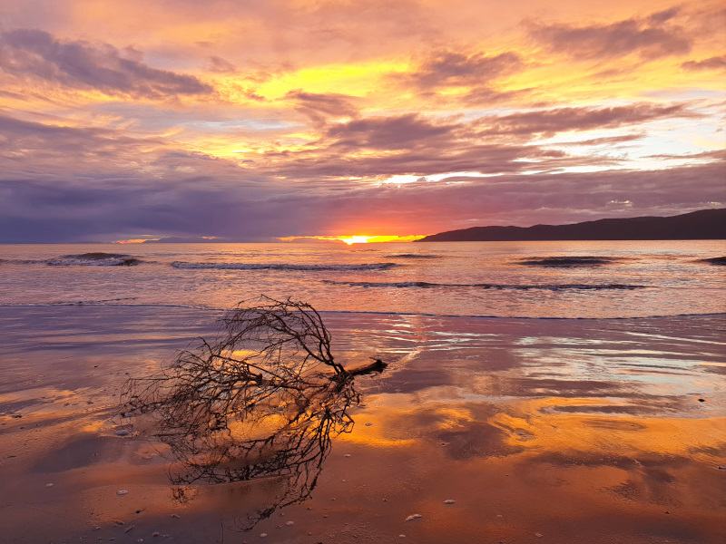 Paraparaumu and an unforgettable sunset