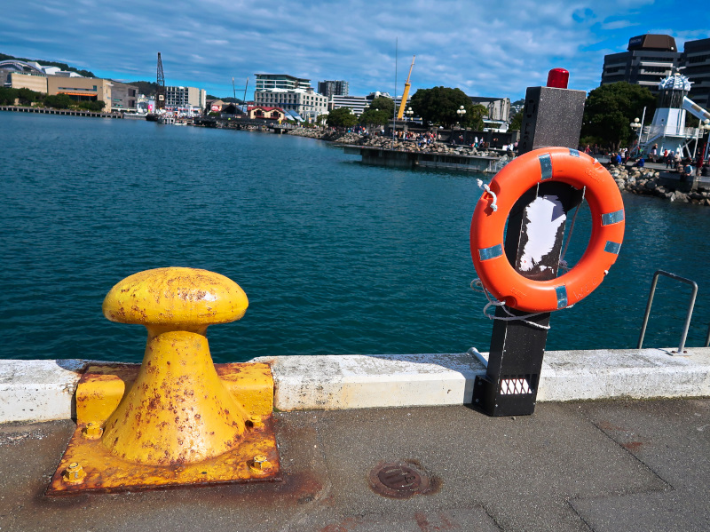 Wellington stroll at the harbour