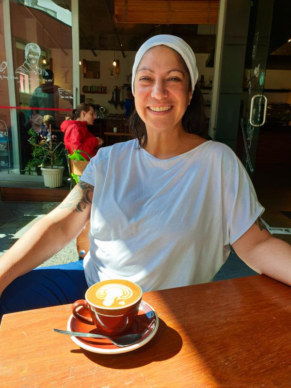 Coffee break in Wellington
