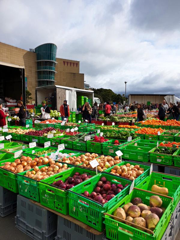 Farmer's Market in Wellington