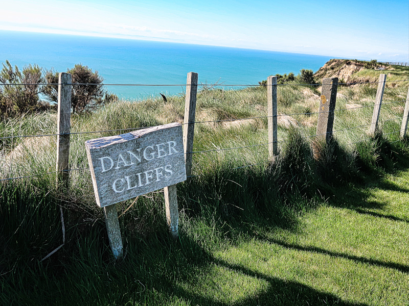 Cliffs at Cape Kidnappers