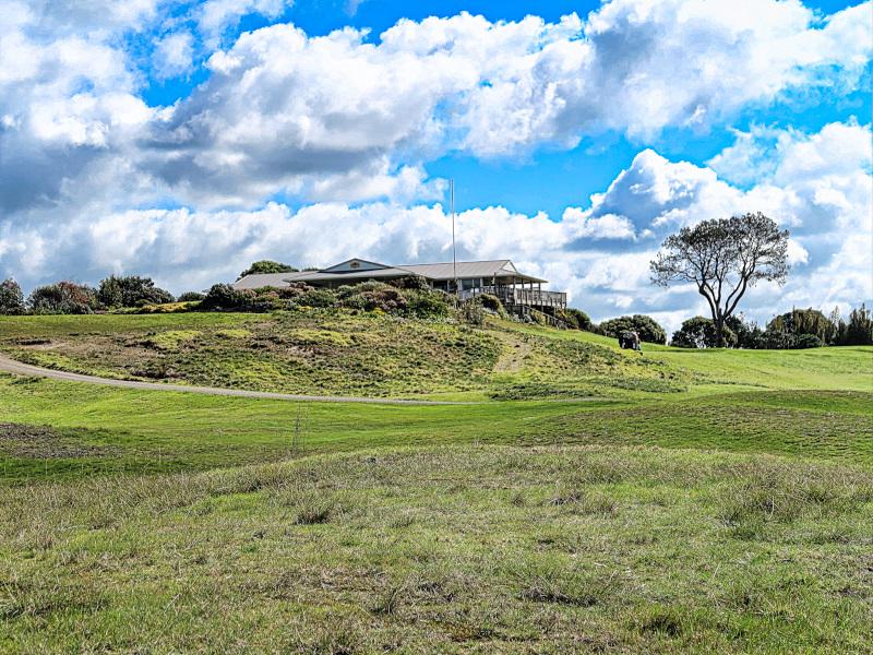 Clubhouse view at Waipu Golf Club