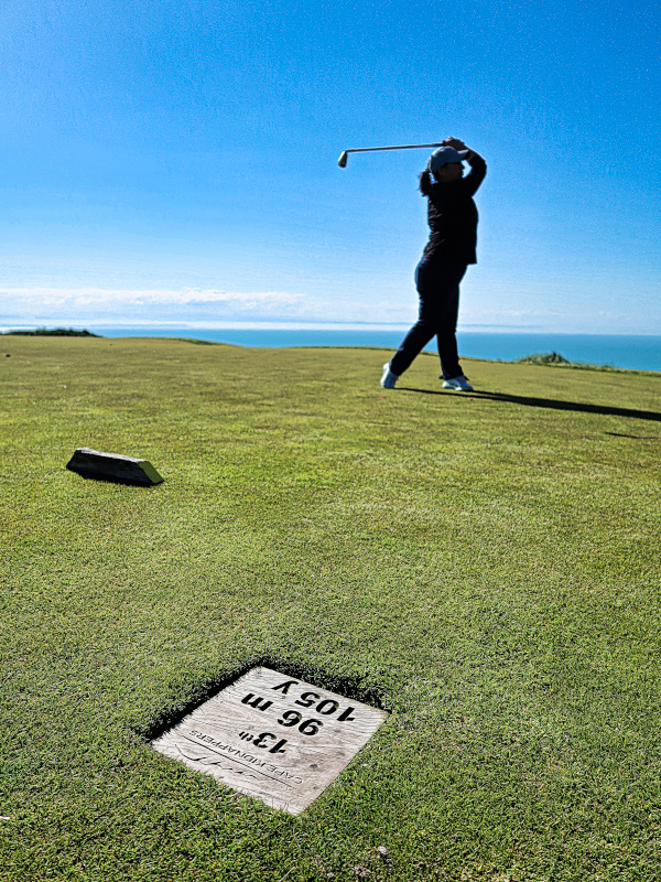 Hoping for Al's Ace at Cape Kidnappers
