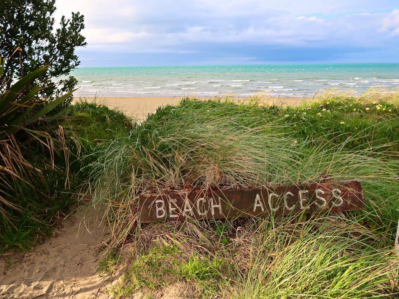 Beach Access at Takaka Golf Cub