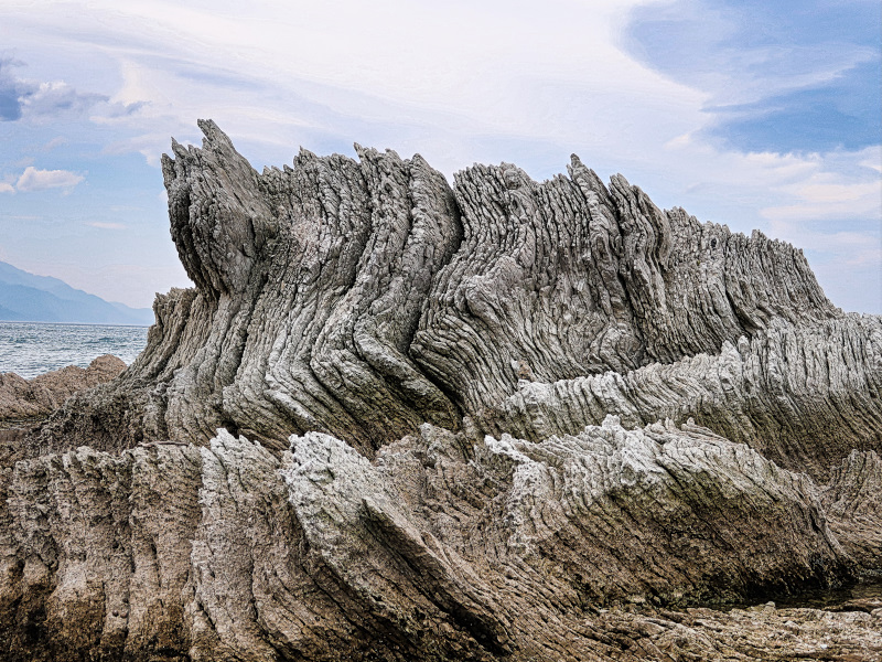 Spectacular rock formations