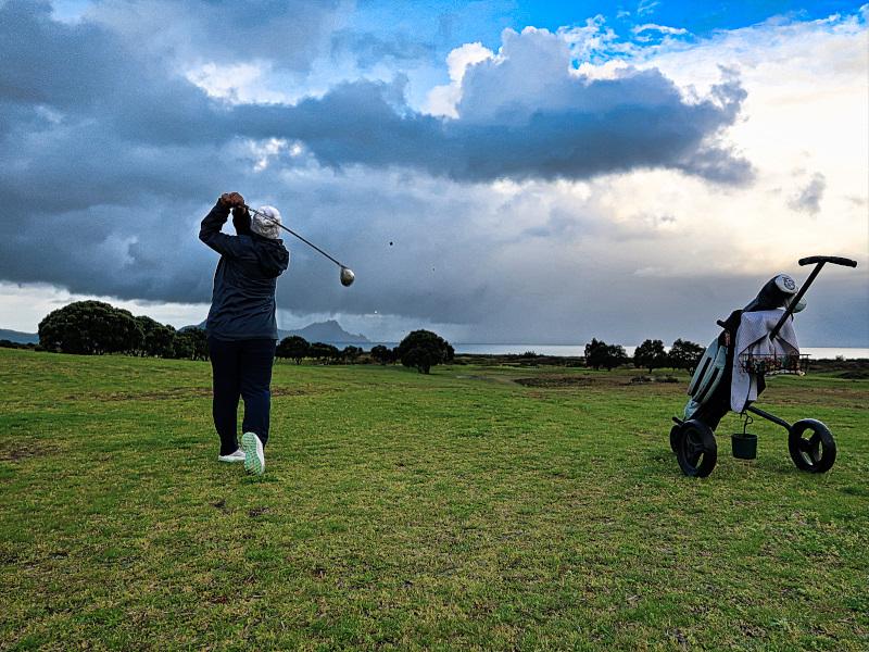 Out at Waipu Golf Club