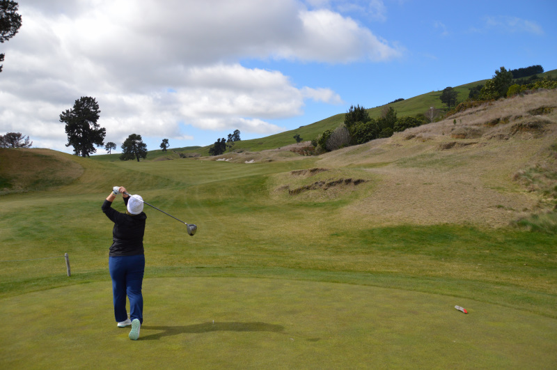 Teeing off on Rise at The Kinloch Club