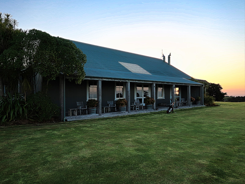 The Clubhouse at Cape Kidnappers