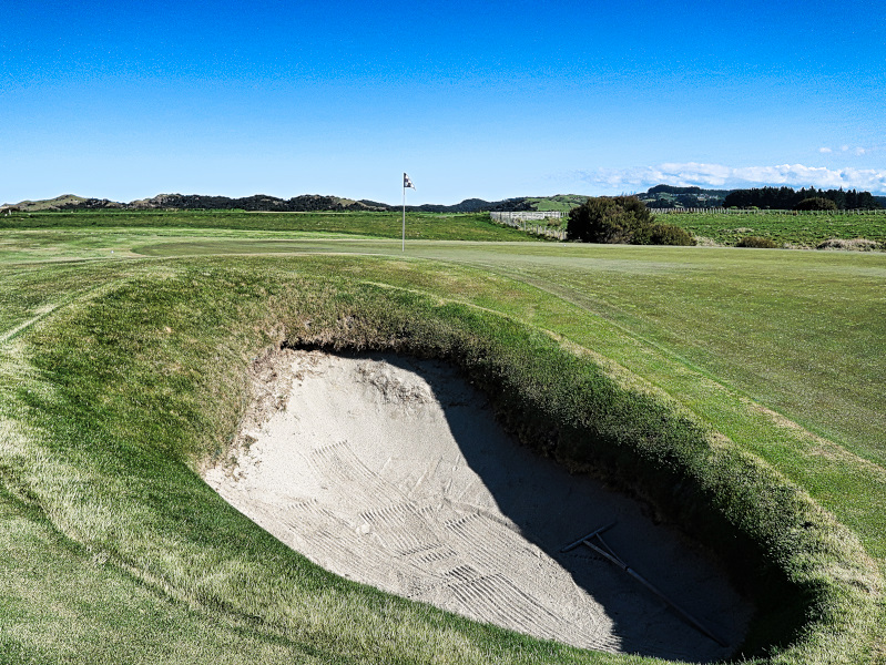 The Pimple bunker at Cape Kidnappers