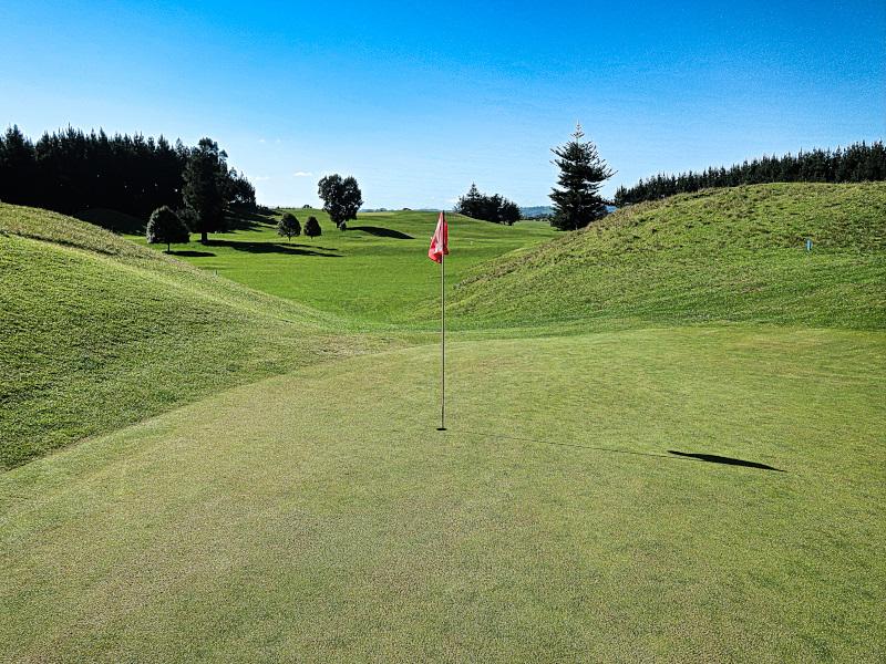Veiw from Tom Thumb at Waverley Golf Club